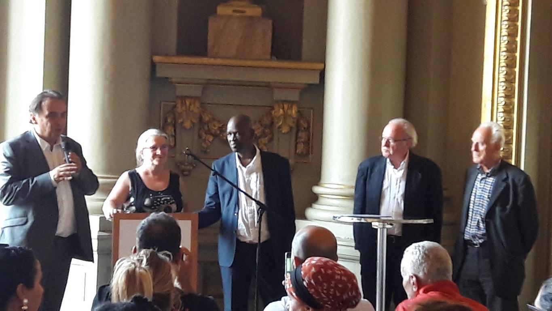 2018 - cérémonie remise diplôme Mairie Roubaix 27 juin 2018 - photo 1