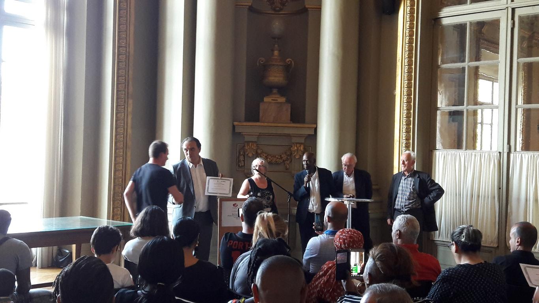2018 - cérémonie remise diplôme Mairie Roubaix 27 juin 2018 - photo 2