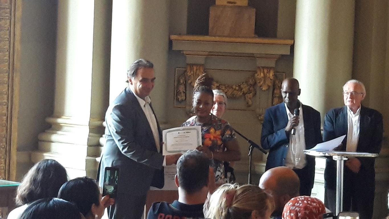 2018 - cérémonie remise diplôme Mairie Roubaix 27 juin 2018 - photo 3