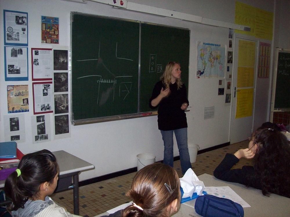 1 sensibilisation en classe