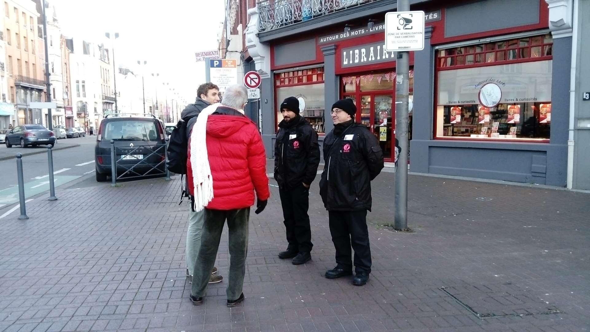 Médiation sur les espaces publics